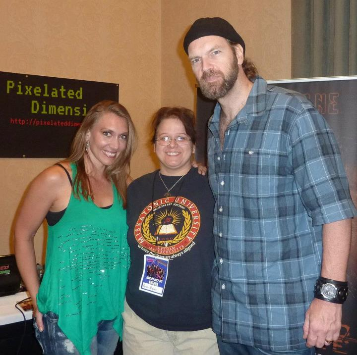 FandomFest 2012 - Tyler Mane and Renae Geerlings